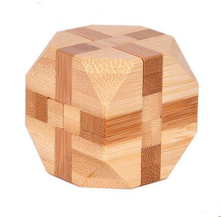 대나무 연동 버 퍼즐 게임 장난감 크기 4.5*4.5 CM