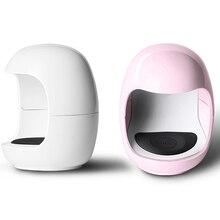 New Mini Egg Shape 6W UV LED Lamp for Nail Single Finger Lamp Nail Gel Polish Dryer Drying Machine Smart Sensor