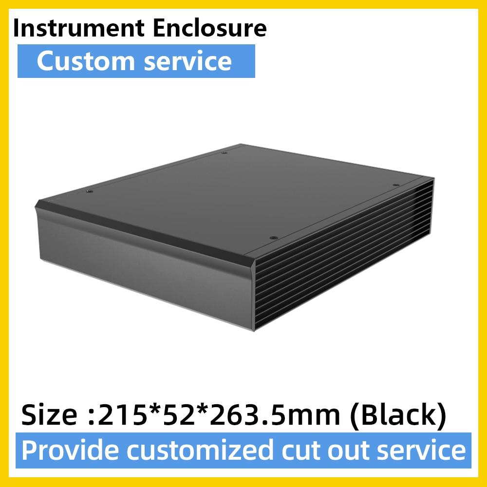 G08 212W56H235L عالية الجودة الألومنيوم الكهربائية PCB صندوق Exturuded صك الضميمة