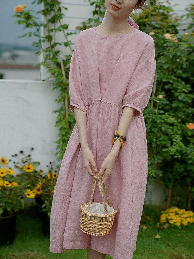2021 GDIN ملابس نساء فستان ميدي