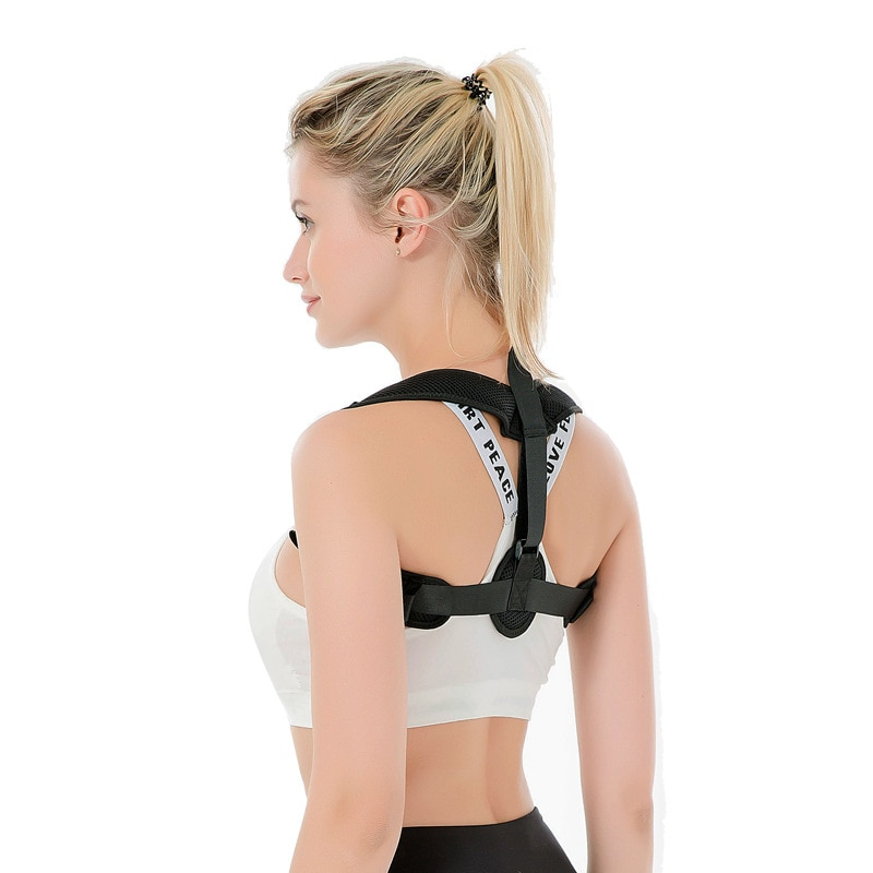 2019 Corrector de postura escoliosa espalda Brace columna corsé cinturón terapia de hombro apoyo de la postura de corrección cinturón hombres