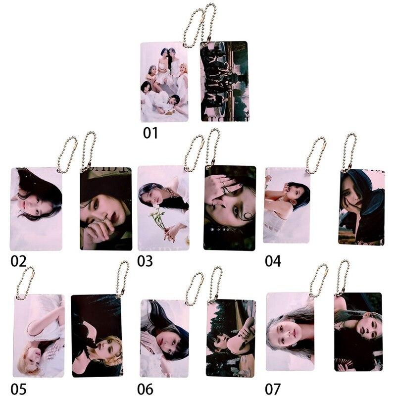 Youpop KPOP GIDLE (G)I-DLE G-IDLE кольцо для ключей Senorita I MADE Album LOMO Cards K-POP брелок