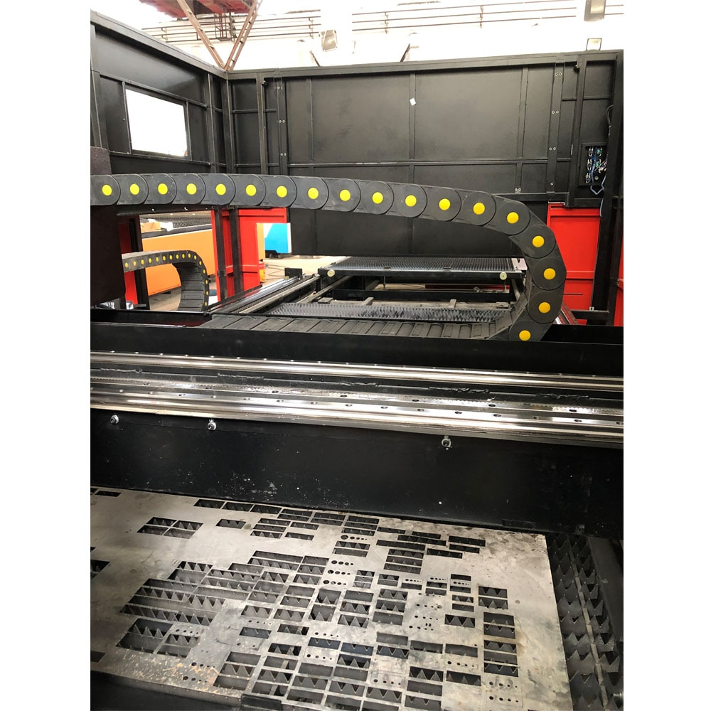 Máquina cortadora láser de fibra de carbono de alta eficiencia 1000W, máquina láser de fibra para acero, aluminio