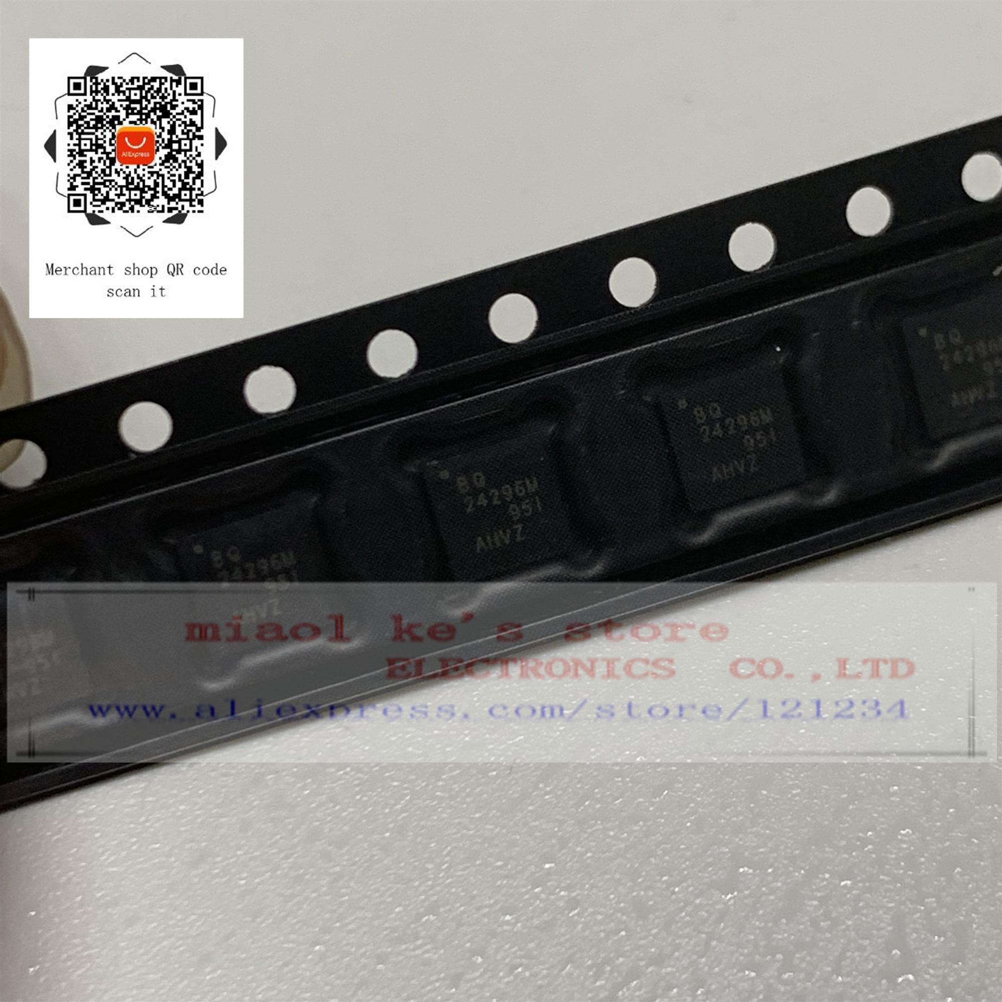 [2 uds-5 uds] 100% nuevo original BQ24296MRGER BQ24296M BQ24296M BQ 24296 - IC de LI ION cargador 24VQFN
