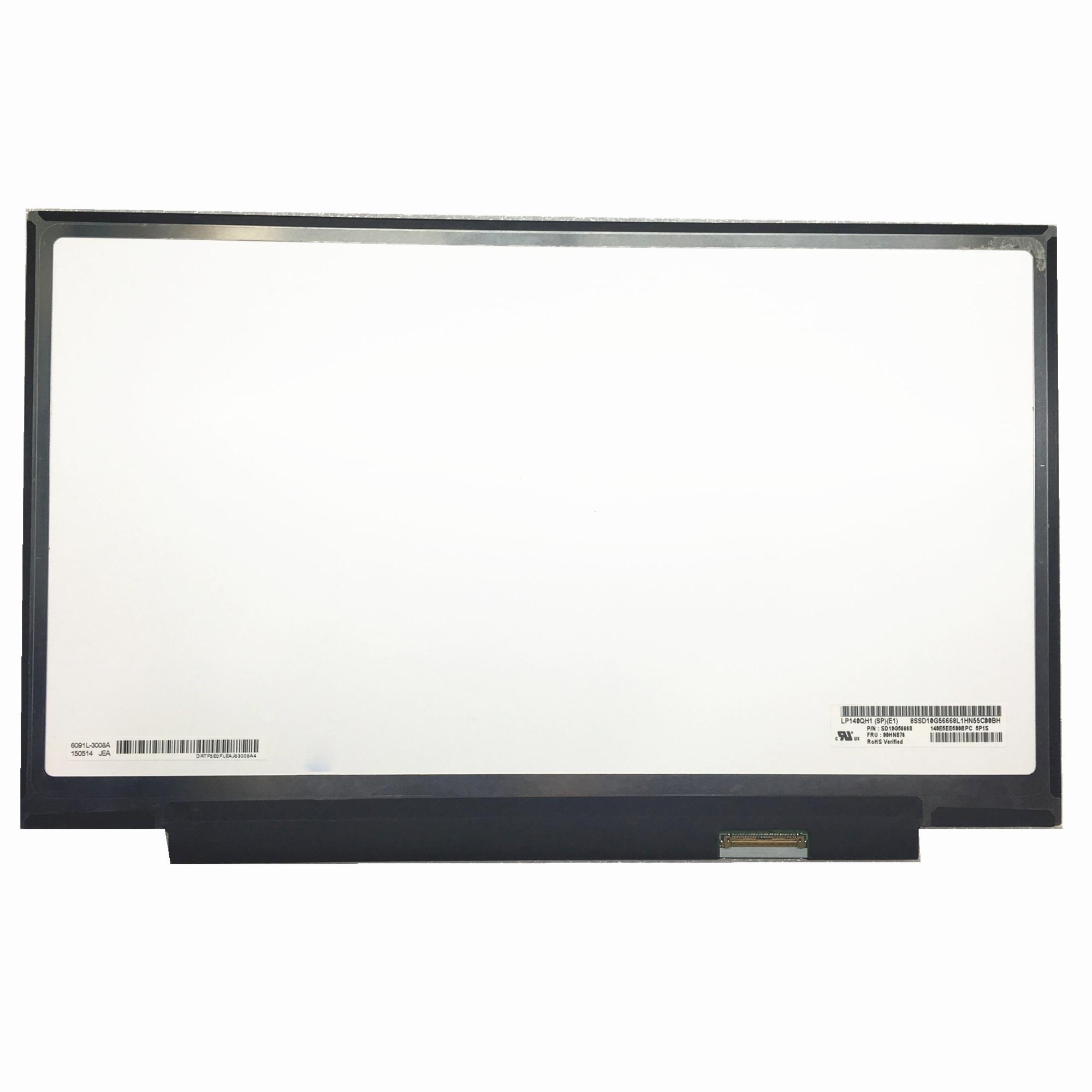 Frete grátis LP140QH1-SPE1 lp140qh1 spe1 portátil tela lcd 2560*1440 com fru 00hn876