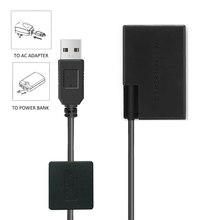 LP-E17 ACK-E18 batterie factice adaptateur secteur cc pour CANON EOS 750D 760D 77D 800D 200D rebelle SL2 Kiss X8i T6i T6S RP caméra
