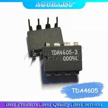 10 piezas TDA4605-3 TDA4605 vertical DIP8 IC 100% buen interruptor fuente de alimentación controlador IC chip de circuito integrado