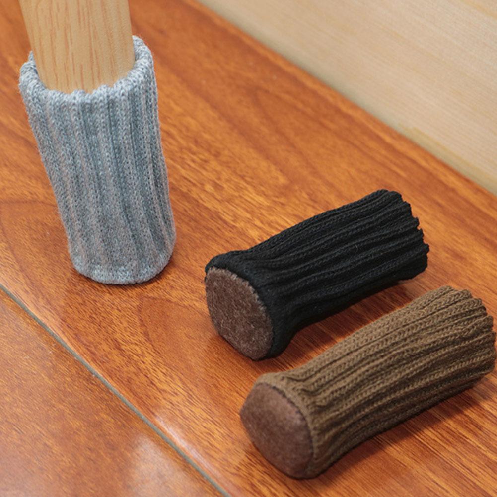 24 шт носки эластичные носки для мебели ножка стула носки для хождения по полу протектор уменьшить шапки с нескользящей толстой Шум ножка ст...