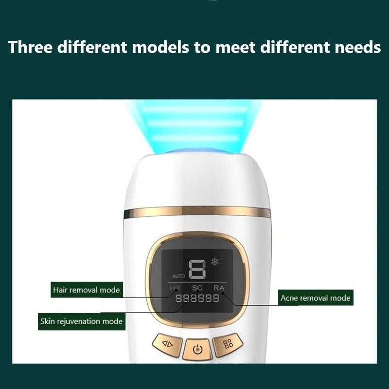 999999 Flashes Laser Epilator Painless IPL Photoepilator Hair Removal Home Bikini Hair Removal Device Epilator Dropship enlarge