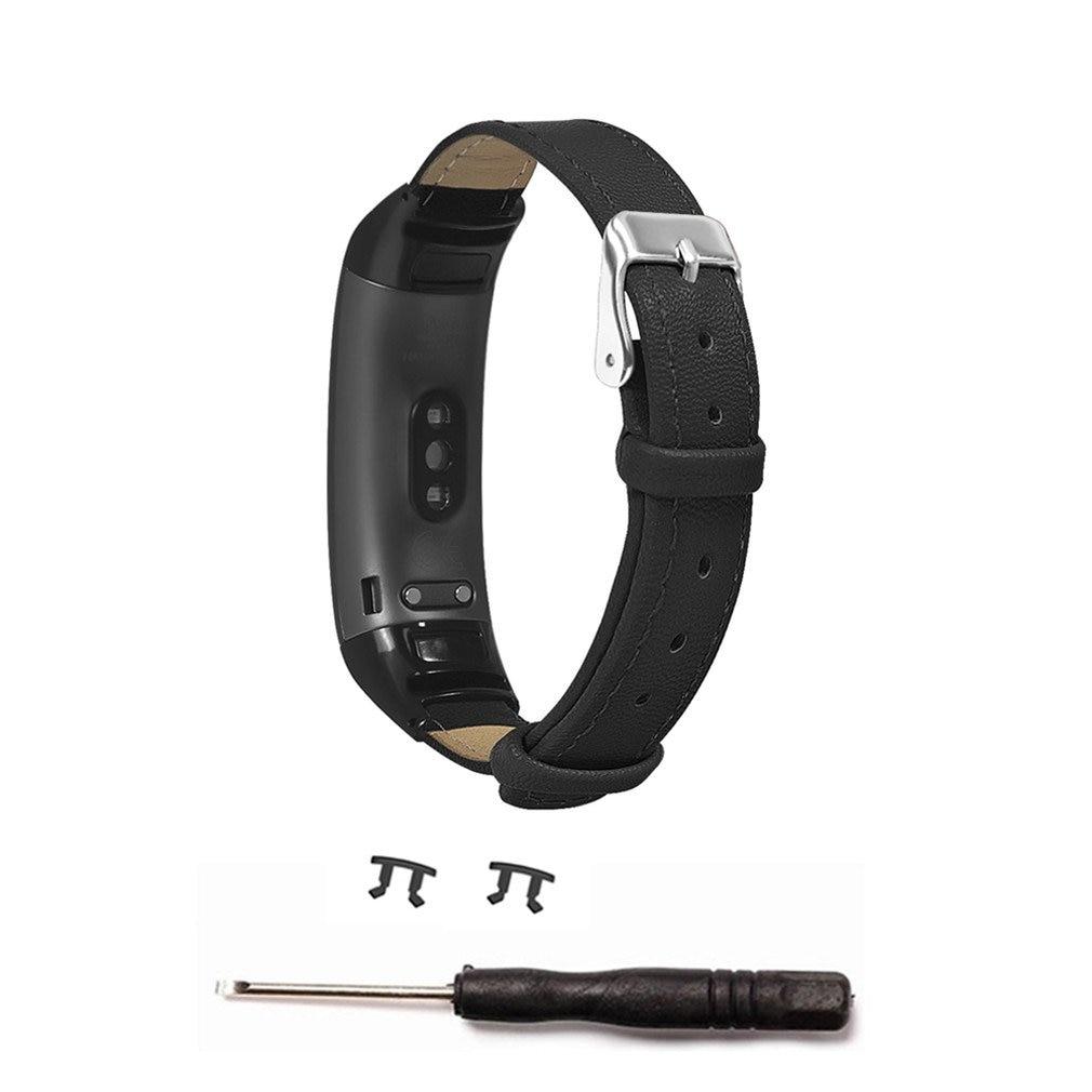 Correa de cuero de microfibra para Huawei Honor Band 3/3 Pro Smart Band correa de repuesto de banda de pulsera inteligente