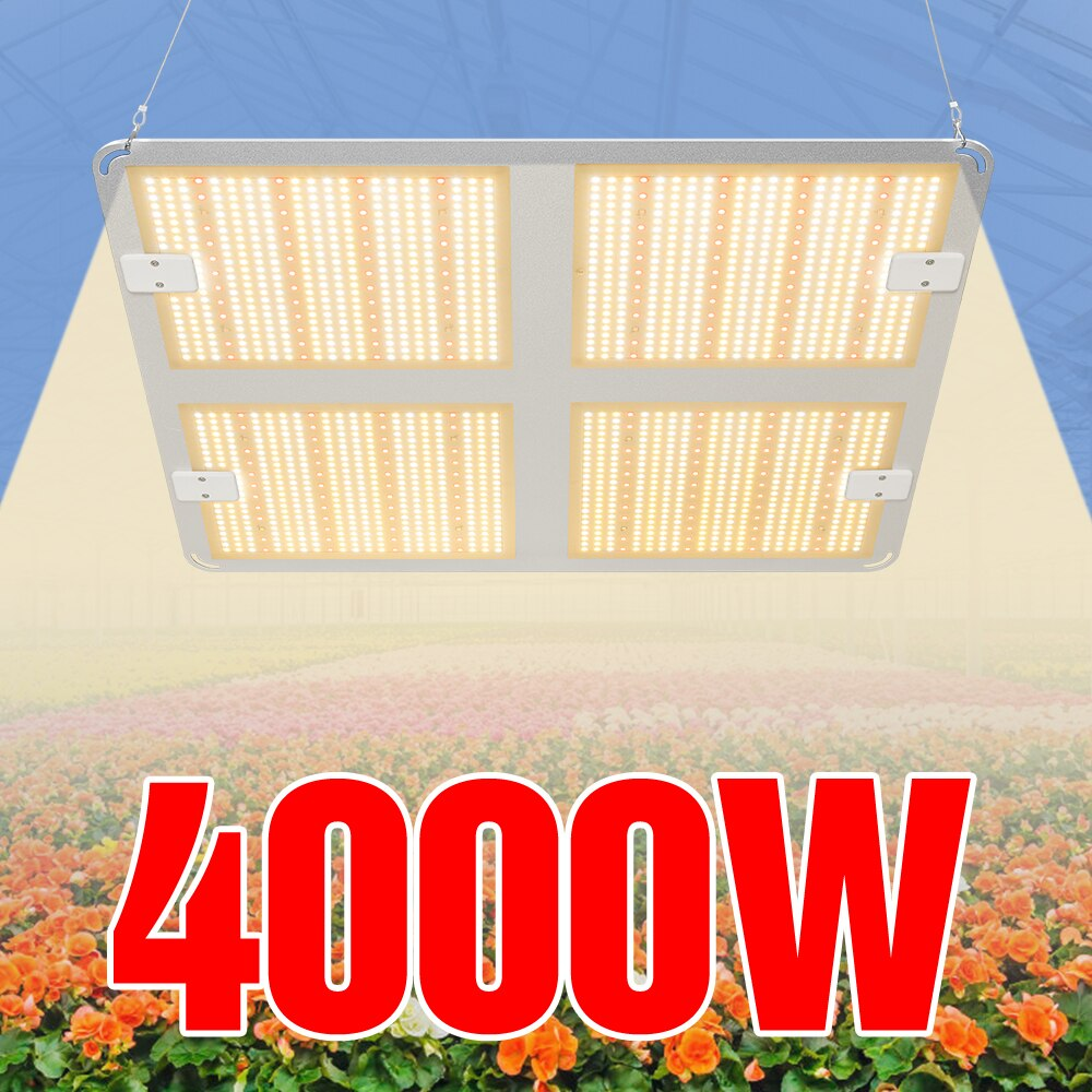4000W светодиодный Grow светильник светодиодный светильник для растений 220V комнатные растения семена Lampara 110V гидропоники лампа парниковых ...