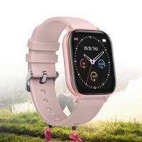 new smart watch men women sport fitness tracker full touch bluetooth blood pressure sleep monitor round smartwatch women watch