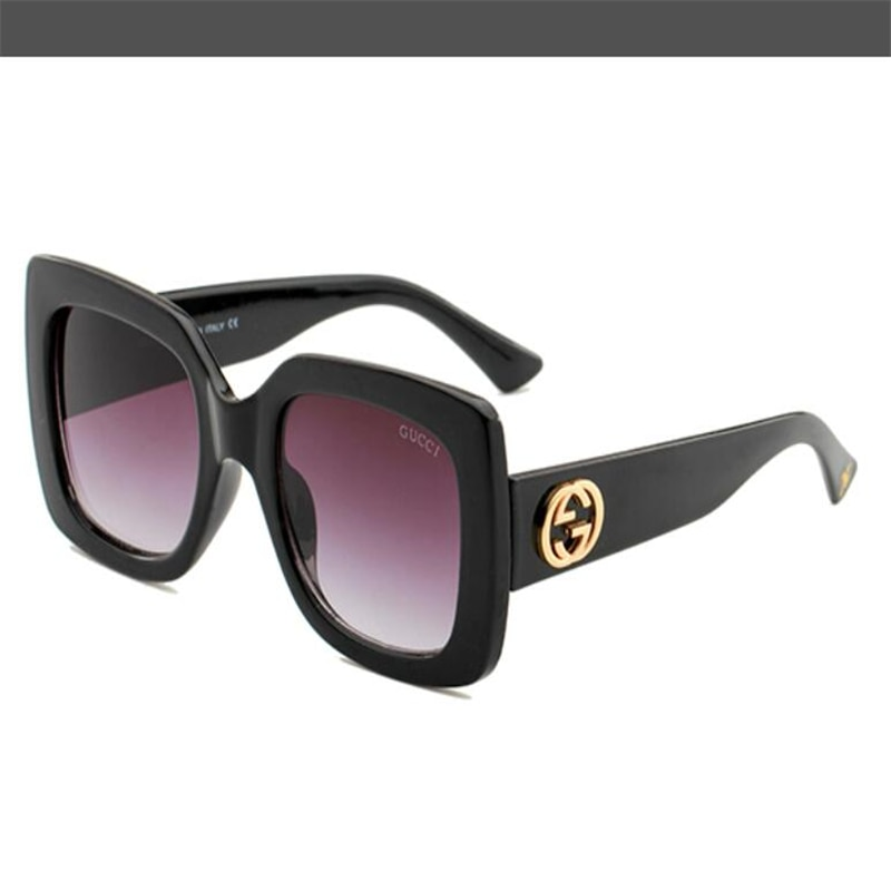 2021 Luxur Top Quality Classic Square Sunglasses G Designer G Brand fashion Mens Womens Sun Glasses