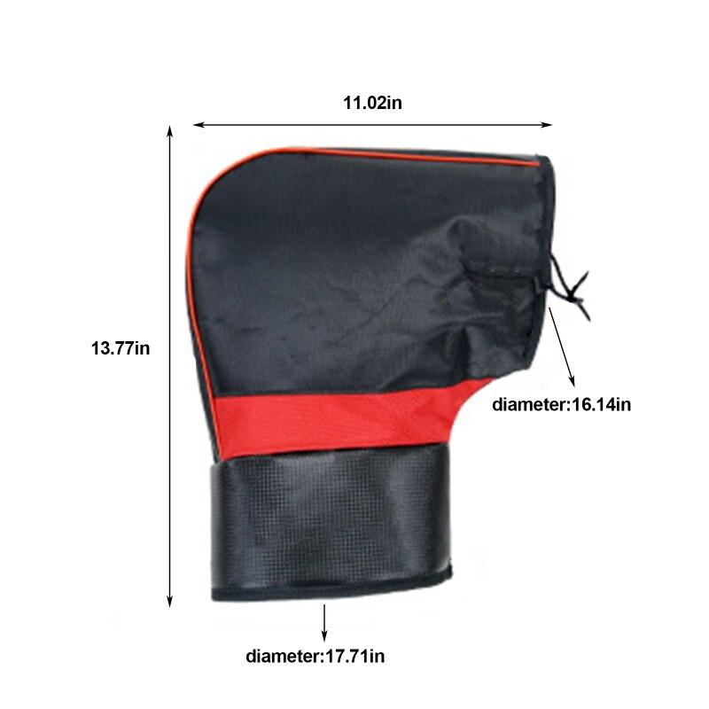 2pcs High Quality Warm Motorcycle Handlebar Gloves Mittens Hand Warmer Waterproof Warm Motorbike Handle bar Hand Cover Muffs enlarge