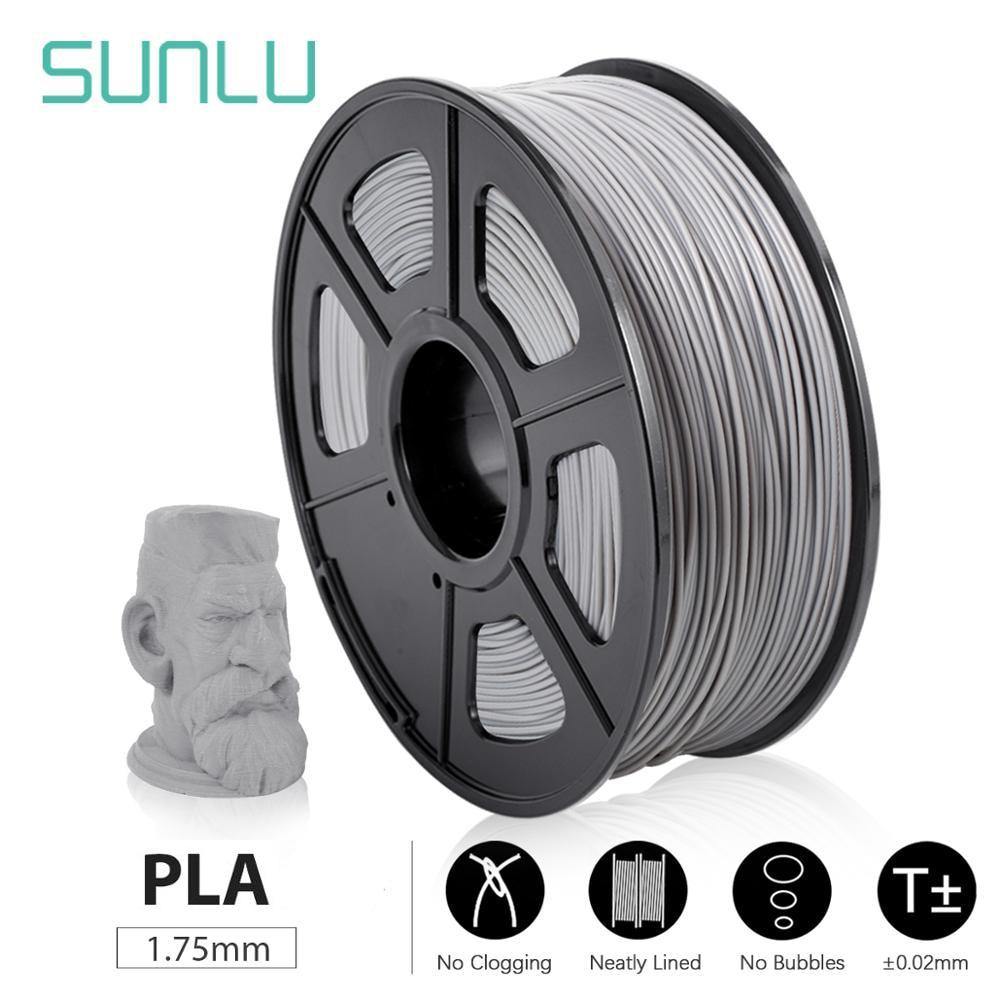 SUNLU PLA 3D Printer Filament Non-blocked Nozzle High Quality Filament 1.75mm 1kg DIY Digital Drawing For FDM 3D Printer
