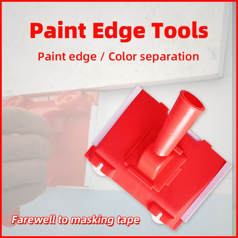 Paint Edger Tools Pro Corner Paint Roller Brush Multifunctional Wall Ceiling Painting Tool Color separation Paint Brush