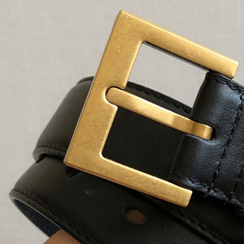 AliExpress - High quality genuine leather 3cm width  belts for women