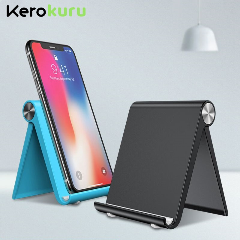Phone Holder Stand Mobile Smartphone Support Tablet Stand for iPhone Desk Cell Phone Holder Stand Po