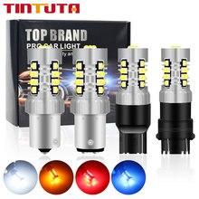 1PC Canbus P21w led Ba15s PY21W LED T20 W21W 7440 W21/5W 7443 T25 3156 3157 3057 LED BAU15S 1156 Signal Lampe Ampoule 3030SMD 21LED