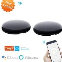 Tuya     telecommande intelligente Wifi   controle a infrarouge  Hub de controle domestique  application Tuya fonctionne avec Google Assistant Alexa Siri