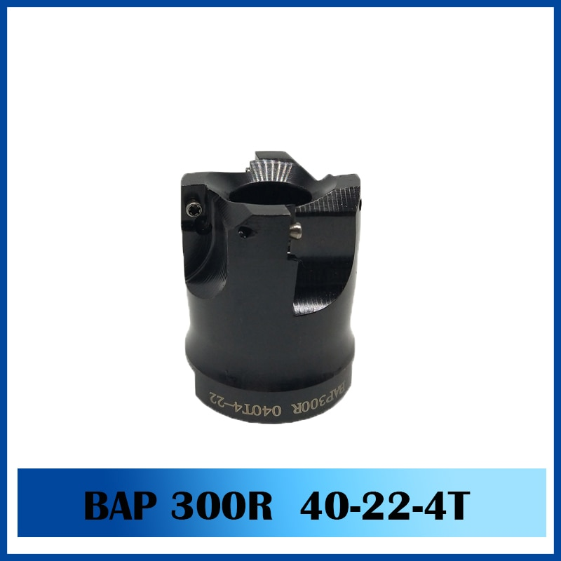 1pc BAP300R 40/22/4T BAP400R EMR5R EMRW6R KM12 40 50 22 T 4T 5T 6T fresadora CNC titular para el mecanizado de la máquina de corte