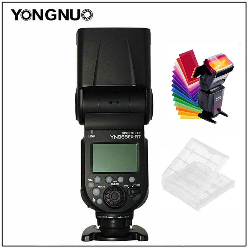 YongNuo YN968EX-RT II  Flash Speedlite HSS TTL Master Wireless LED Light 1/8000s for Canon 50d 60d 5d mark III IV 120D 110D 70d