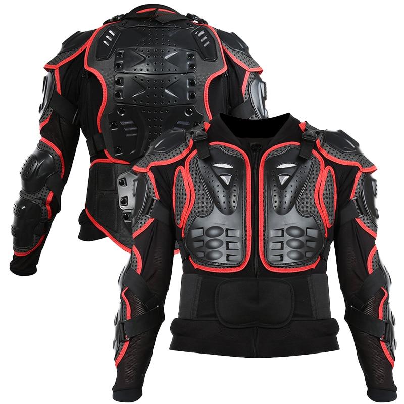 S-XXXL دراجة نارية درع واقٍ للجسد بالكامل حماية جاكيتات موتوكروس سباق ملابس رسمية موتو ركوب حماة السلاحف جاكيتات