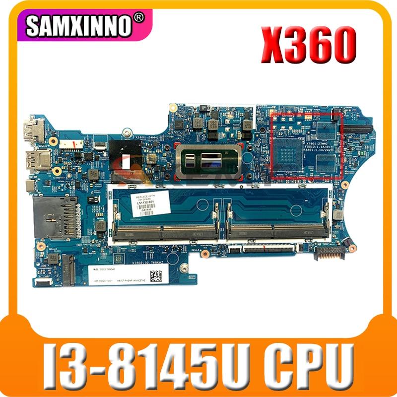 18742-1 اللوحة لابتوب HP جناح X360 للتحويل 14-DH اللوحة الأصلية CPU:SRFFZ I3-8145U GM L51132-501 L51132-601
