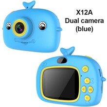 Cute Camera Toys Outdoor Photography Props For Child Birthday Gift 2 Inch HD Screen Chargable Digita
