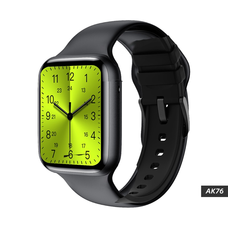 """2021 iwo fk88 lite relógio inteligente ak76 1.75 """"hd bluetooth chamada monitor de freqüência cardíaca relógio de pulso do cliente face embutido 3 jogos smartwatch"""