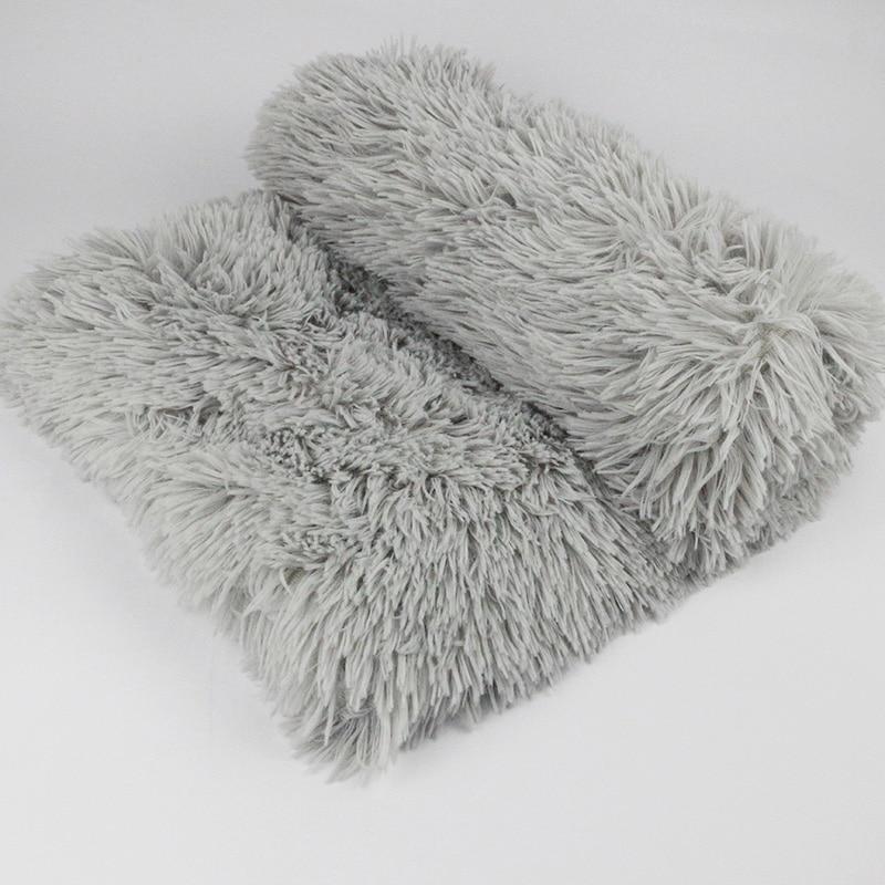 Cobija polar para mascota esponjoso perro gato cama esteras Deep Sleeping fino suave cubre para perros pequeños grandes colchón de gato