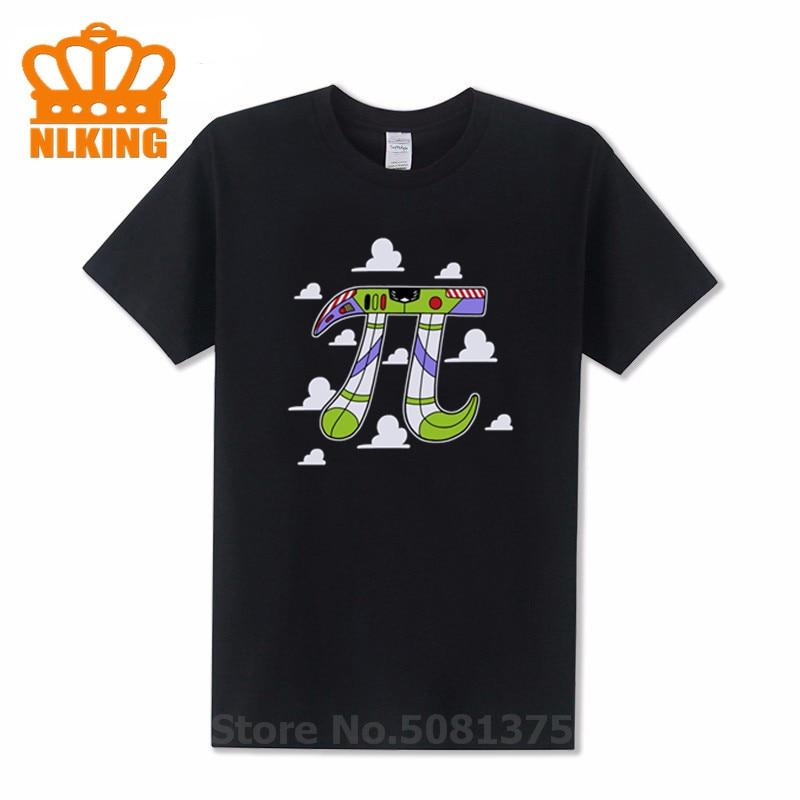 Moda matemáticas Pi 3,14 símbolo número camisetas hombres verano cachorro Pastel abstracto Scifi camiseta Humor camisetas PI to infinity camiseta