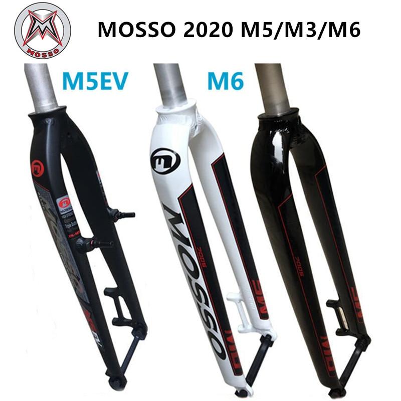 Mosso fork m6 m5 m5e m5ev m3 mtb bicicleta garfo adequado para 26 27.5 29er estrada garfo v freio forquilhas dianteiras cone gloss/fosco 2020