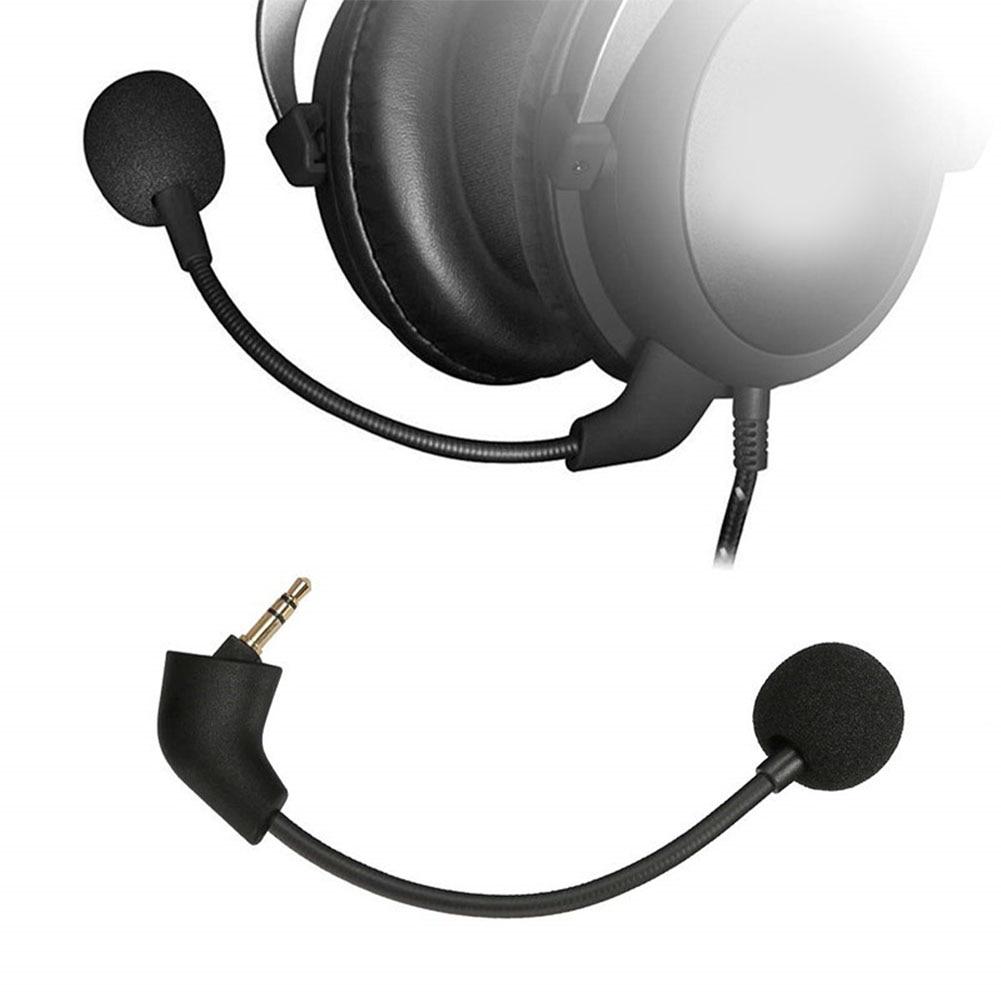 Портативная запасная часть для студийного игрового микрофона с защитой от помех 10 см, проводная черная стерео прочная гарнитура HyperX Cloud II