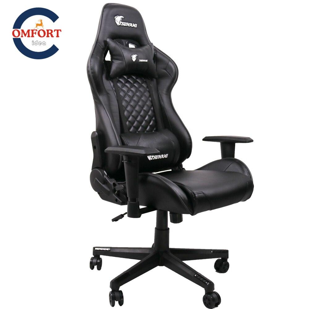 Cadeira gamer pode mentir e levantar lazer computador cadeira de braço pode 360 graus pode ser girado pubg x cadeira de jogos de balancim