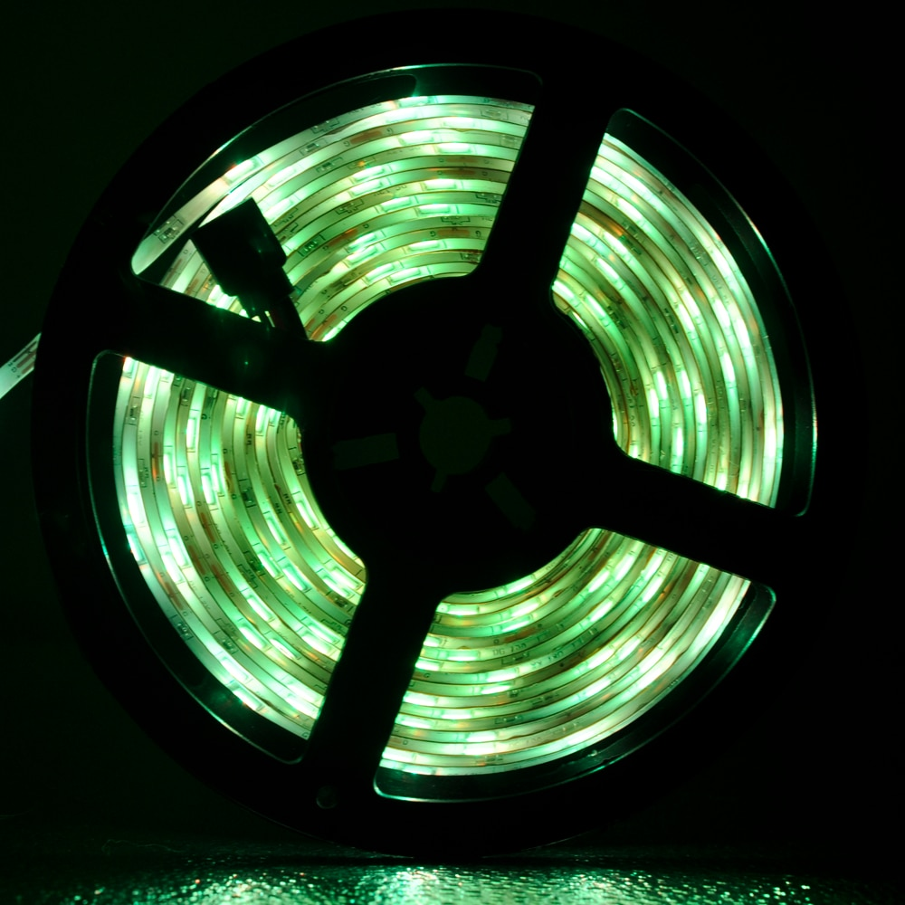 IR LED Strips Light luces RGB 5050 Flexible Lamp Tape Ribbon With Diode Tape fita led for Christmas 15M lights enlarge