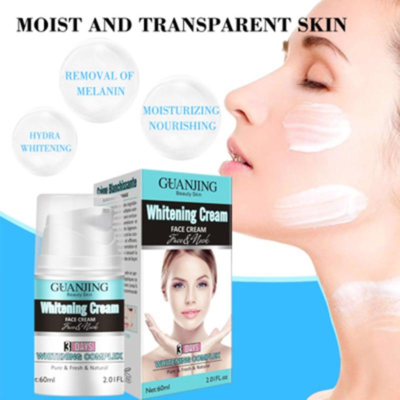 hot sale 60ml Whitening Cream Face Cream Skin Brightening Hydrating Diminishing Eye Wrinkles Anti-Aging Fresh Natural Cream недорого