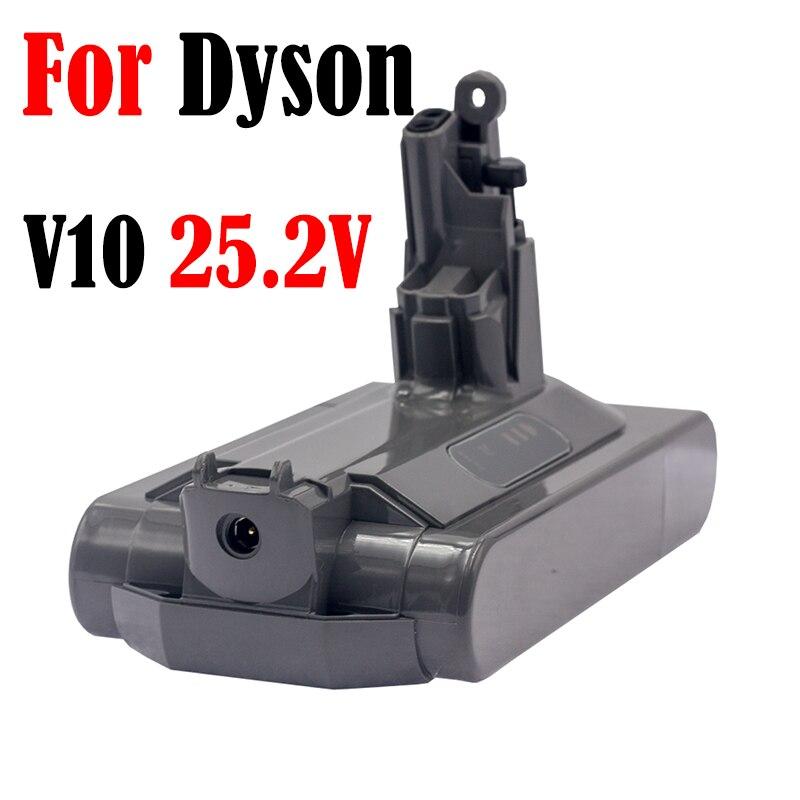 بطارية دايسون V10 25.2V3000mAh بطارية ليثيوم بديلة مكنسة كهربائية المطلق SV12 V10 منفوش V10 موتور هيد 2020 أحدث