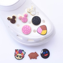 1pcs Soft PVC JIBZ Charms Children's cartoon shoes Accessories Decorations Clogs Button Charm for Sa