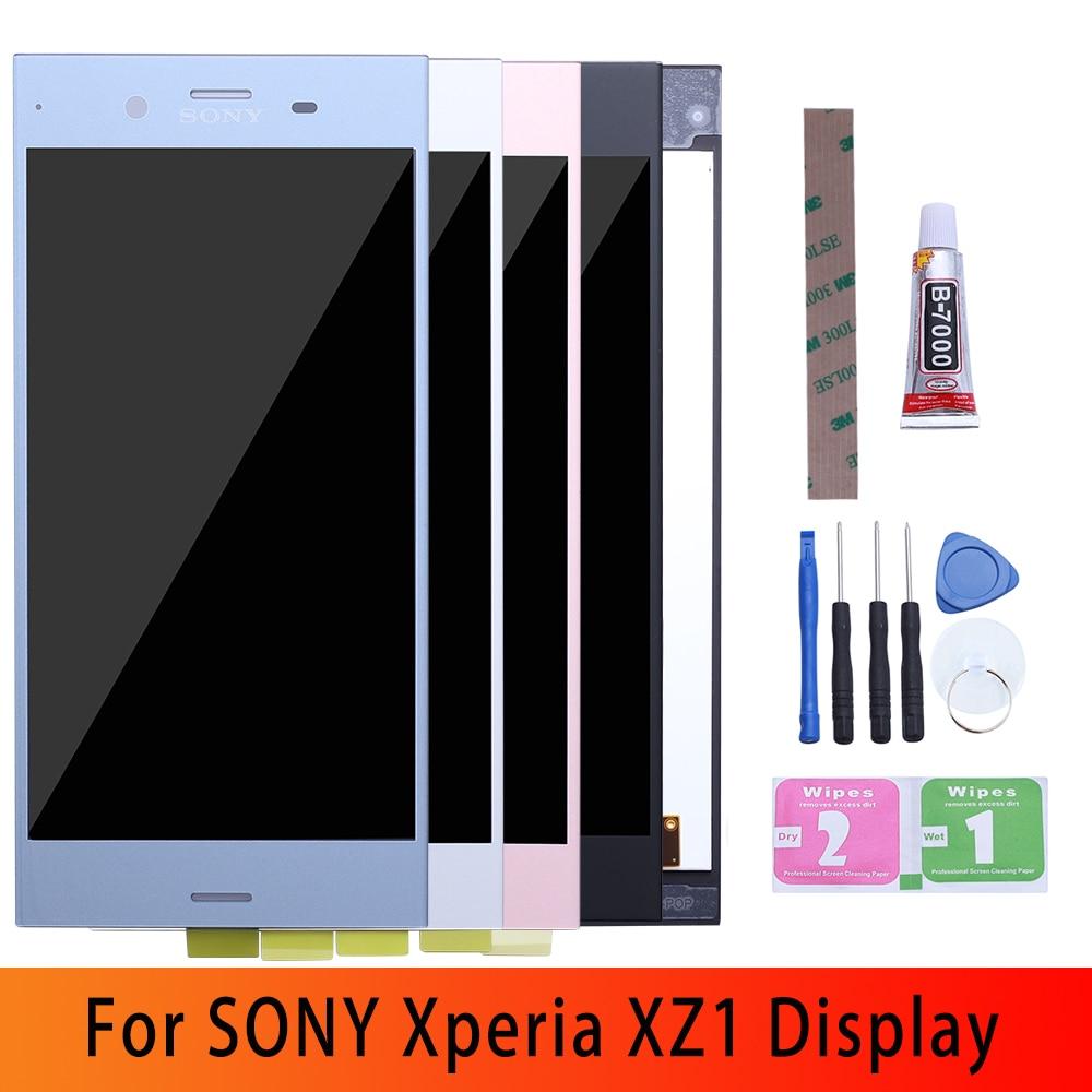 "5,2 ""Original LCD para SONY Xperia XZ1 pantalla táctil de reemplazo para SONY XZ1 Dual módulo pantalla LCD XZ1 G8341 G8342 LCD"