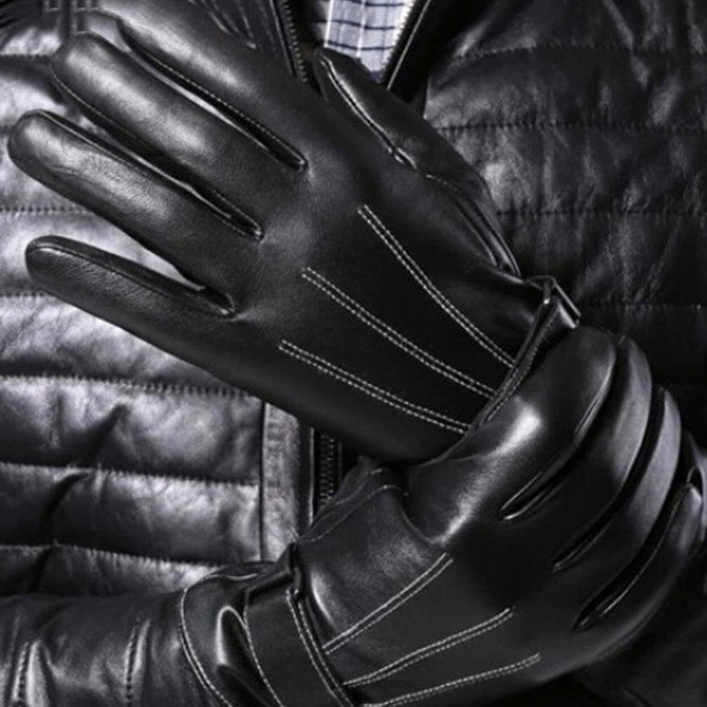 Кожаные перчатки для сенсорного экрана Мужские кожаные перчатки улучшенные перчатки для сенсорного экрана Мужские кожаные перчатки из ове...