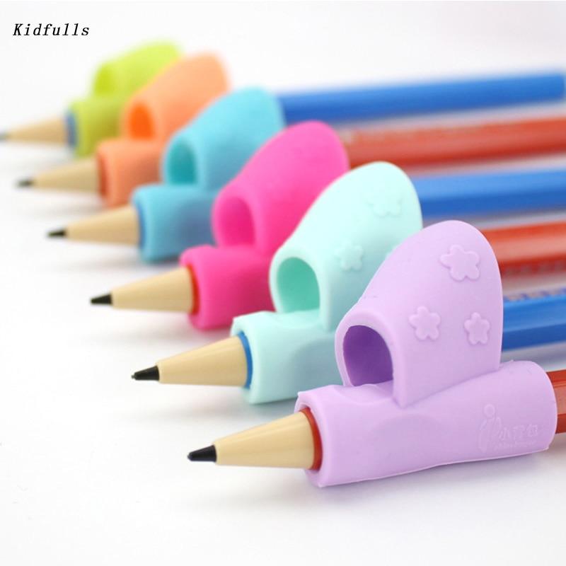 Montessori Brinquedos Educativos para Crianças Materiais de Ensino Aprendizagem Precoce Kids Preschool Segurar o Lápis Corrector Aperto 3 Pçs/lote