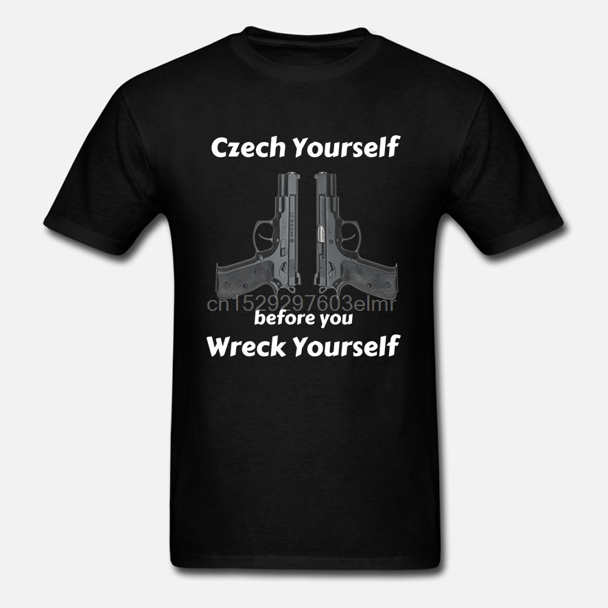 Camiseta de manga corta de checo para ti mismo CZ75 Unisex