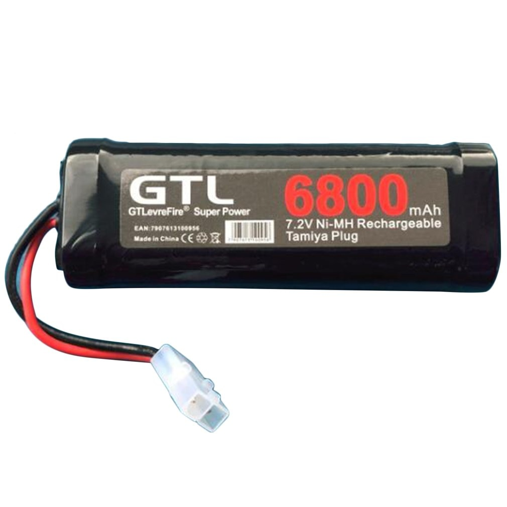 6800mAh 7,2 V NiMh RC juguete batería recargable plana de carreras de coches batería de repuesto para RC Avión Helicóptero barco