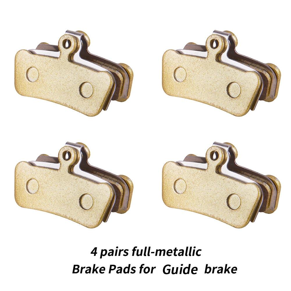 MTB Brake 4 Piston Bike Disc Brake Pads For Guide G2 RSC Hydraulic brake Full Metallic Semi Metallic Brake Pads XO Trail E9 E7