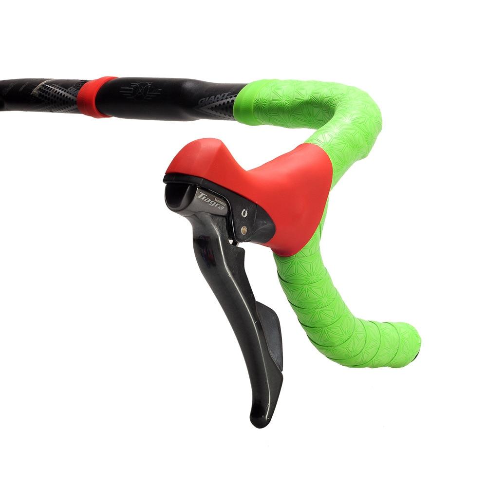 1 par de estrada bicicleta guiador capa 4700 105-5800 ut6800 silicone mão variável capa protetora para