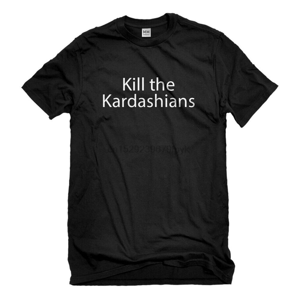Camiseta de manga corta para hombres Kill the Kardashians #3046
