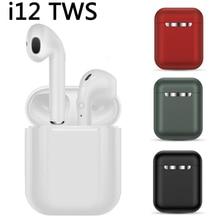 i9s i12 TWS Wireless Headset Touch Key Bluetooth 5.0 Sport Earphone Stereo For iPhone Xiaomi Huawei Samsung Smart Phone