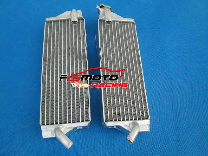 Radiador de aluminio para HUSQVARNA TC250 TE 250 TE450 TC450/510/2003-2009
