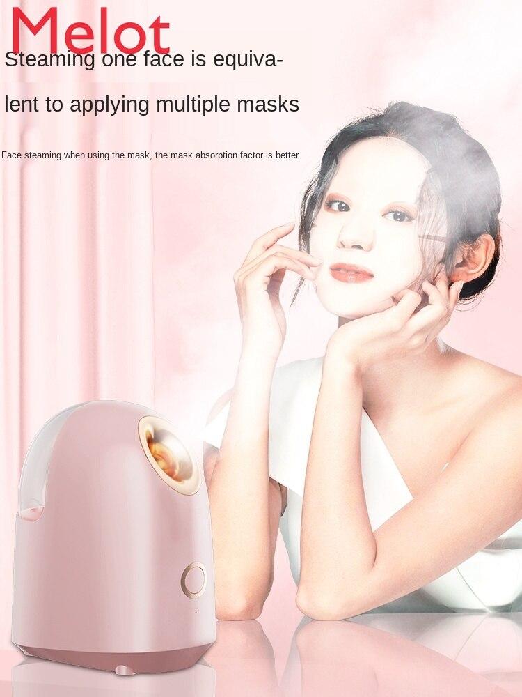 Hot Spray Facial Vaporizer Household Hydrating Moisturizing Lotion Facial Detoxification Beauty Portable Steam Machine enlarge